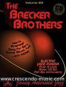 View a sample page! The Brecker Brothers (Book & CD) - Aebersold, Jamey