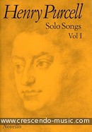 Solo Songs - Vol.1. Purcell, Henry