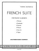French suite. Desportes, Yvonne