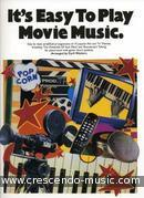 It's easy to play movie music. Album