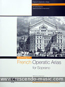 French operatic arias for soprano. Album