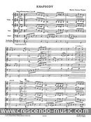 Playstrings Moderately - Vol.15: Rhapsody (Score). Carson Turner, B.