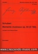 6 Moments musicaux. Schubert, Franz