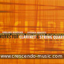Works for clarinet & string quartet. Album