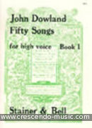 50 Songs - Vol.1 (High voice). Dowland, John