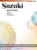 Suzuki Bass School - Vol.3 (Bass part - Revised ed.). Suzuki, Shinichi