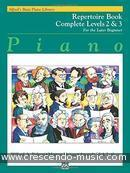 Voir le contenu! Repertoire book - 2&3 - Alfred's Basic Piano Library