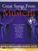 Great songs from musicals. Album