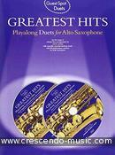 Guest Spot Duets: Greatest Hits (Playalong for alto sax). Album