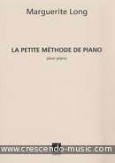 Petite methode de piano. Long, Marguerite