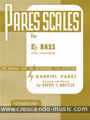 Scales for Eb Bass. Pares, Gabriel
