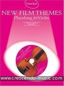 New film themes - Playalong for violin. Album