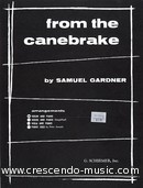 From the canebrake. Gardner, Samuel