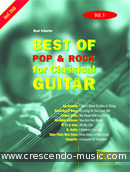 Best of Pop & Rock for Classical Guitar - Vol.1. Album