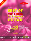 Best of Pop & Rock for Classical Guitar - Vol.3. Album