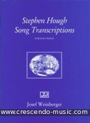 Stephen Hough song transcriptions. Hough, Stephen