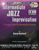 Intermediate jazz improvisation - exp.v.. Bouchard, George