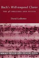 Bach's Well-Tempered Clavier. Ledbetter, David