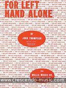 For Left Hand Alone - Vol.1. Thompson, John