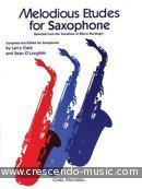 Melodious etudes for Saxophone. Clark-O'Loughlin