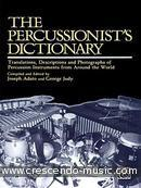 The percussionist's dictionary. Adato - Judy