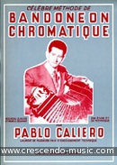 Methode de bandoneon chromatique. Caliero, Pablo