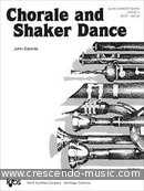 View a sample page! Chorale and shaker dance (full score) - Zdechlik, John