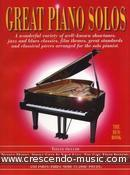 Great Piano Solos - Red Book. Album