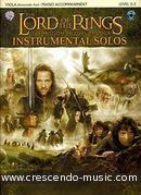 Lord of the rings - Viola. Shore, Howard