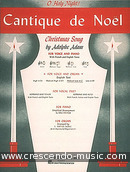 Cantique de Noel (Medium low voice). Adam, Adolphe