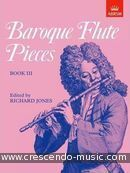 Baroque Flute Pieces - Book 3. Album
