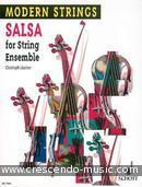Salsa for string ensemble (score & parts. Luscher, Christophe