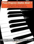 Piano progress studies - Book 1. Waterman, Fanny; Harewood, Marion