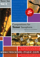 Compositions for tenor saxophone. Lyons, Graham