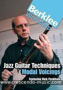 Jazz guitar techn.: modal voicing (DVD). Peckham, Rick