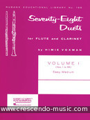 78 Duets for flute and clarinet – Vol.1. Album