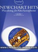 Guest Spot: New Chart Hits (Playalong for alto saxophone). Album