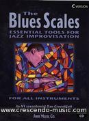 The blues scales - C Version. Greenblatt, Dan