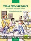 Viola time runners. Blackwell, Kathy and David