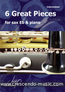 View a sample page! 6 Great pieces for sax Eb & piano - Album