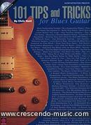 101 Tips and tricks for blues guitar. Hunt, Chris