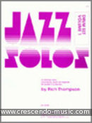 Jazz solos for drum set - 1. Thompson, Rich