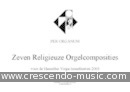 View a sample page! 7 Religieuze orgelcomposities - Album