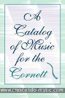 A catalog of music for the cornett. Collver-Dickey