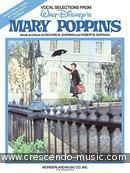 Vocal selections from Mary Poppins. Sherman, R.