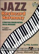 Jazz keyboard harmony. De Greg, Phil