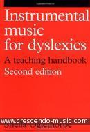 Intrumental music for dyslexicx (2nd edition). Oglethorpe, Sheila