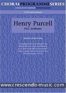 5 anthems. Purcell, Henry