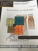 Sonatina in colors. Olson, Kevin