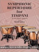 Symphonic repertoire for timpani: The 9 Beethoven symphonies. Carlyss, Gerald
